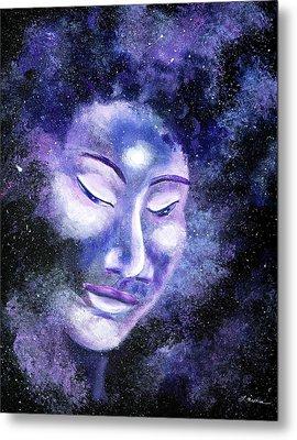 Star Buddha Of Equanimity Metal Print