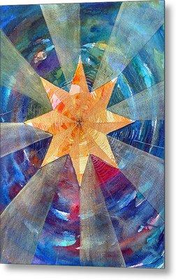 Star Mandala 1  Metal Print
