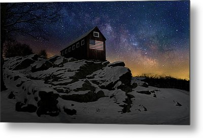 Metal Print featuring the photograph Star Spangled Banner by Bill Wakeley