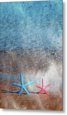 Starfish On The Run Metal Print