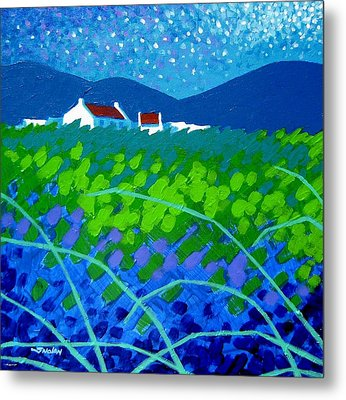 Starry Night In Wicklow Metal Print