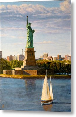 Statue Of Liberty Metal Print