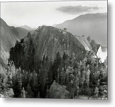 Stawamus Chief, Squamish, British Columbia, Canada, Tilt-shift Metal Print by Brian Caissie