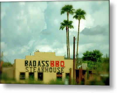 Steak House Metal Print by Kristine Patti