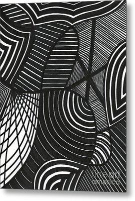 Stealth Metal Print