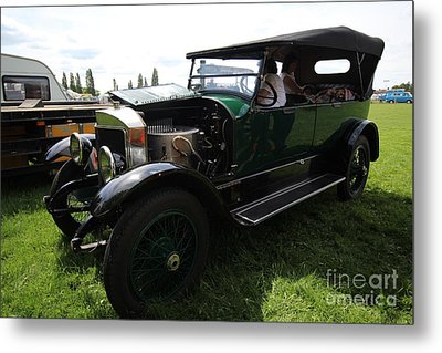 Steam Car Metal Print