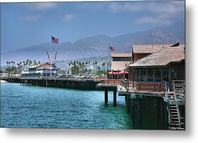 Stearn's Wharf IIi Metal Print by Steven Ainsworth