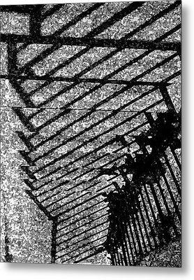 Steps Metal Print by John Bradburn