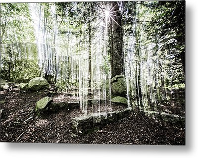 Steps To The Sun Metal Print by Marc Garrido
