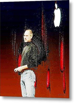 Steve Jobz 5 Metal Print by Piety Dsilva