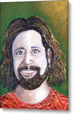 Steve  Metal Print by Keenya  Woods