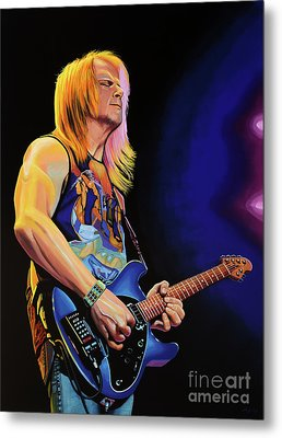 Steve Morse Painting Metal Print by Paul Meijering