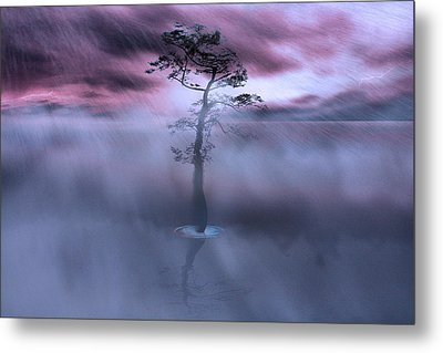 Stick Together The Storm Will Pass Metal Print by Gray  Artus