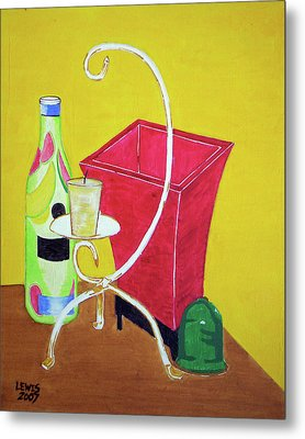 Still Life Metal Print by Christopher Lewis