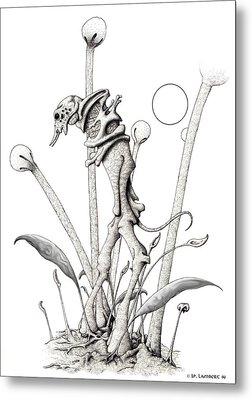 Stipplewalker Metal Print by J P Lambert