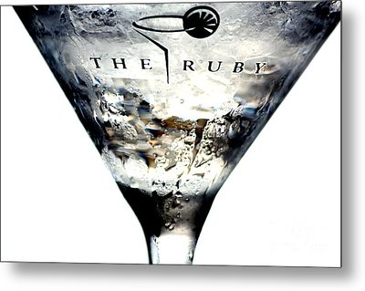 Stirred Martini Metal Print