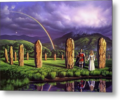 Stones Of Years Metal Print