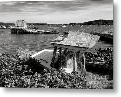 Stonington Memories Metal Print