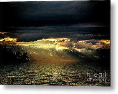 Storm 4 Metal Print by Elaine Hunter