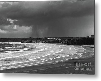 Metal Print featuring the photograph Storm  Over The Bay by Nicholas Burningham