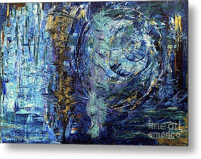 Metal Print featuring the painting Storm Spirits by Cathy Beharriell
