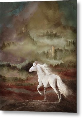 Storybook Stallion Metal Print