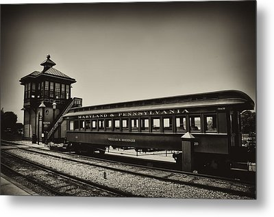 Strasburg Rail Road Metal Print by Bill Cannon