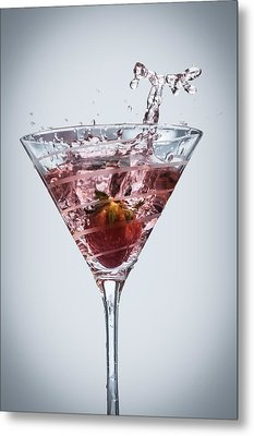 Strawberry Daiquiri Metal Print