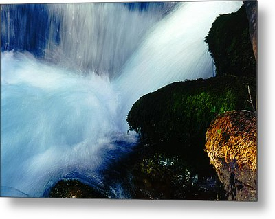 Metal Print featuring the photograph Stream 5 by Dubi Roman