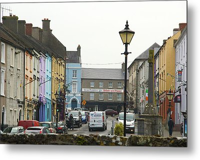Metal Print featuring the photograph Streets Of Cahir by Marie Leslie