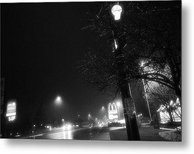 Streetlights Metal Print