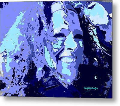 Study In Blue 1 Metal Print by Penfield Hondros