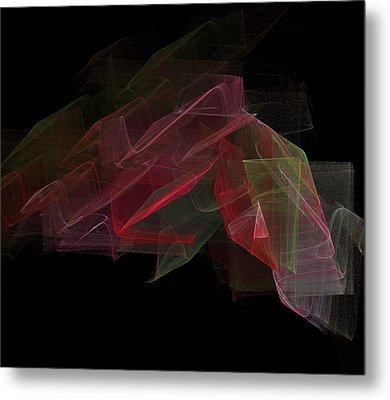 Study In Space Metal Print by Thomas Smith