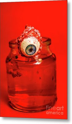 Subject Of Escape Metal Print by Jorgo Photography - Wall Art Gallery