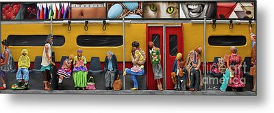 Subway - Lonely Travellers Metal Print