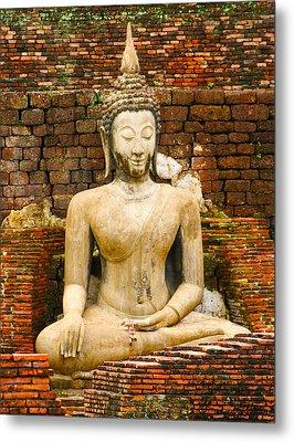 Sucuthai Buddha Metal Print by Rob Tullis