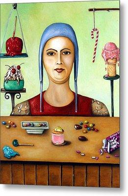 Sugar Addict Metal Print by Leah Saulnier The Painting Maniac