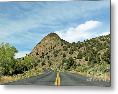 Metal Print featuring the photograph Sugarloaf Mountain In Six Mile Canyon by Benanne Stiens