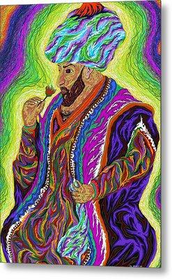 Sultan 2000 Metal Print by Robert SORENSEN