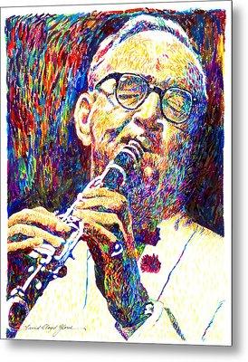 Sultan Of Swing - Benny Goodman Metal Print by David Lloyd Glover