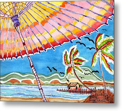 Summer Breezes Metal Print by Connie Valasco