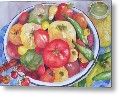 Summer Harvest Metal Print by Sandy Collier