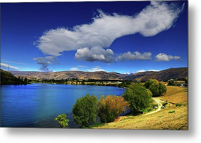 Summer In Central Metal Print