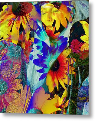 Summer Of Love Metal Print by Patric Carter