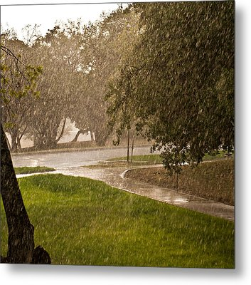 Metal Print featuring the photograph Summer Rain by Robert Harshman