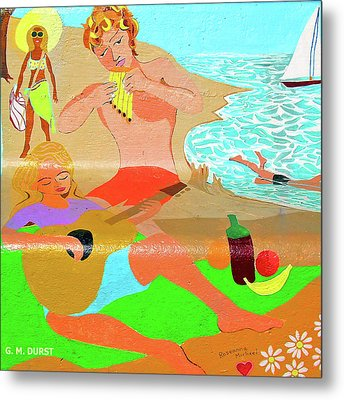 Summer Song Metal Print by Michael Durst