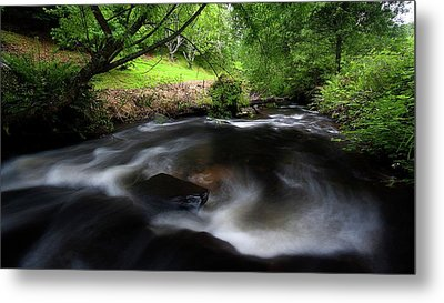 Metal Print featuring the photograph Summer Stream by Tim Nichols