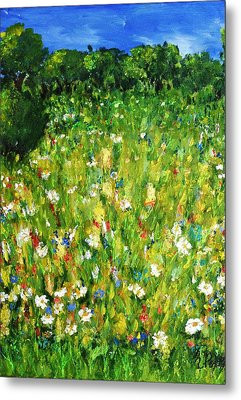 The Glade Metal Print by Evelina Popilian