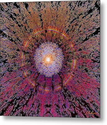 Sun Burst Metal Print by Michael Durst