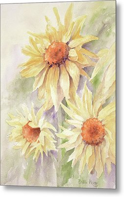 Sunflower Dreams Metal Print by Bobbi Price